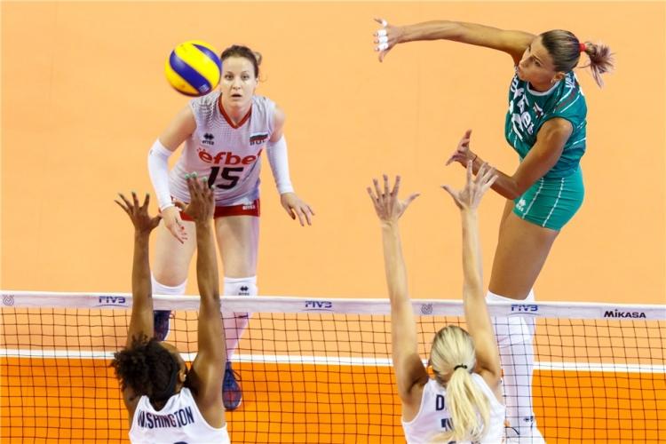 България - САЩ 2:3