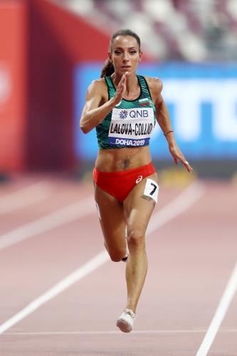 Ивет Лалова се класира без проблем за полуфиналите на 200 метра на Световното