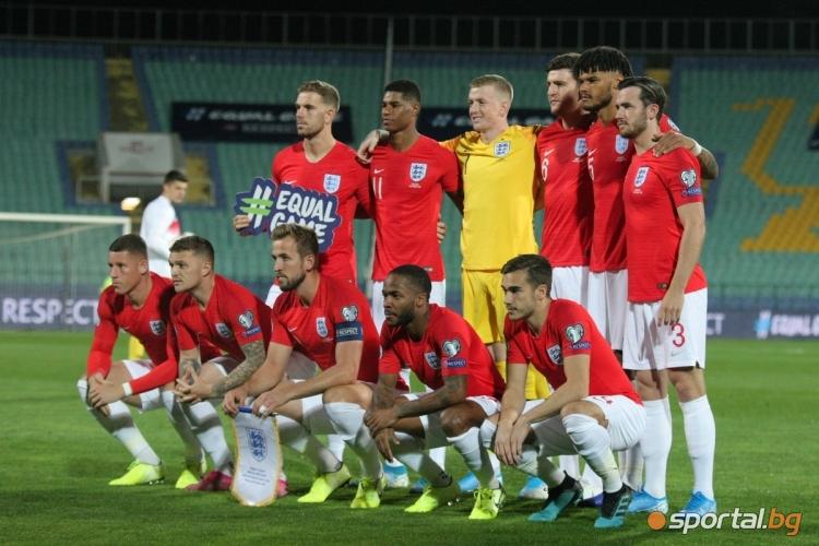 България - Англия