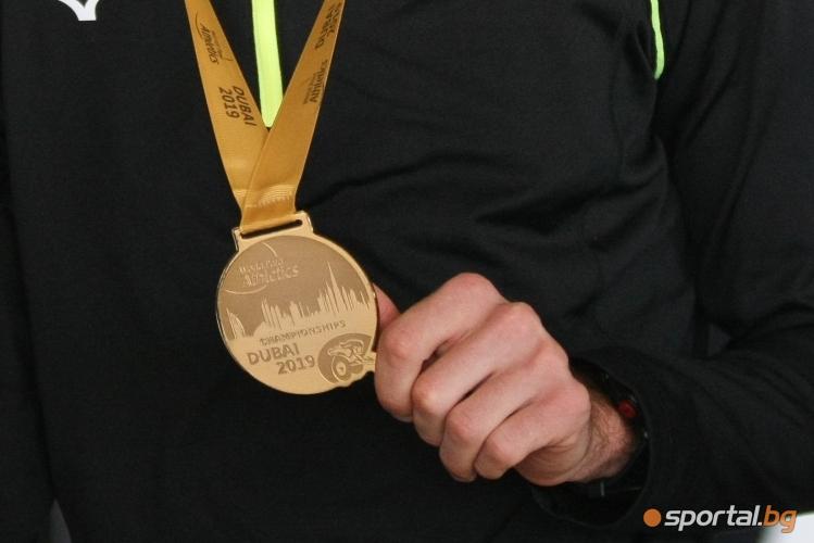 Християн Стоянов се прибра със злато от Дубай