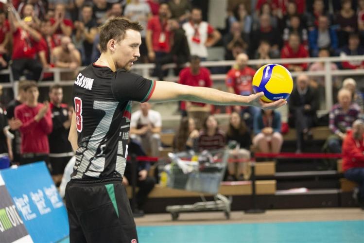 Шомон - Локомотив (Новосибирск) 3:0 (12:15 в златния гейм)