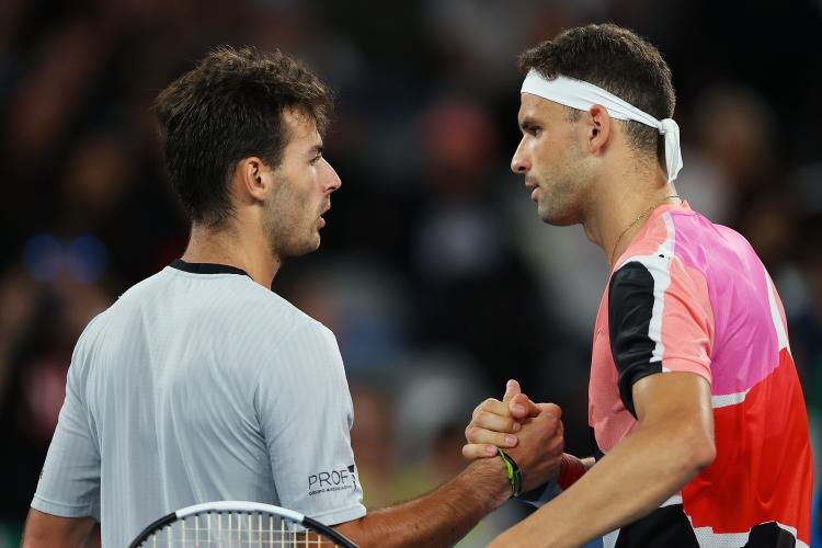 Добро начало за Григор на Australian Open