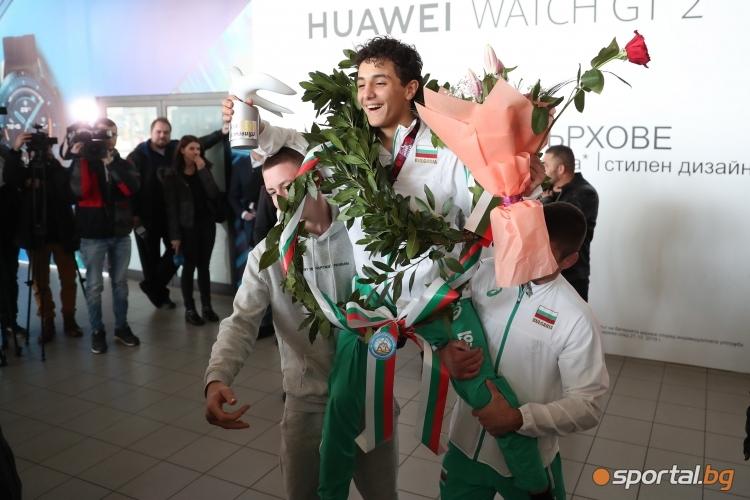 Едмонд Назарян и Даниел Александров се завърнаха в България