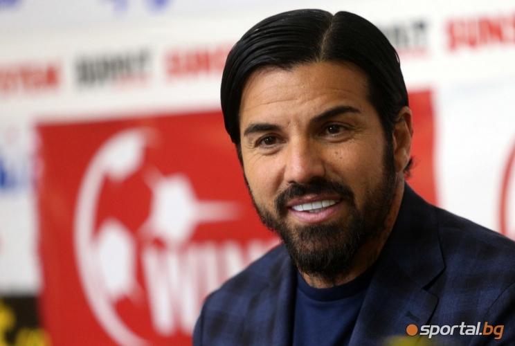 Благой Георгиев за новия си футболен проект