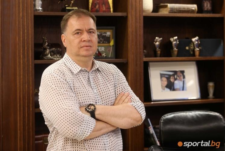 Пресконференция на мениджърът Николай Жейнов