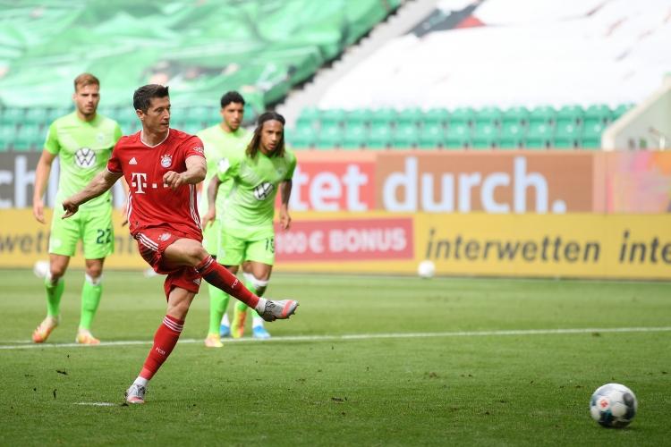 Волфсбург - Байерн (Мюнхен) 0:4