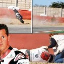 Вижте как Михаел Шумахер се преби с мотор