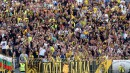 Вижте феновете на Левски и Ботев (Пловдив) по време на мача