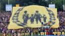 Феновете на Ботев по време на битката за Пловдив