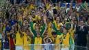 Бразилия разгроми Испания във финала за Купата на конфедерациите