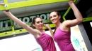 Волейнационалките Славина Колева и Габриела Коева с фитнес фотосесия