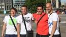 Футболистите на ЦСКА в Амстердам