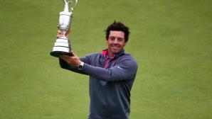 Рори Макилрой - безспорният шампион на The Open Championship