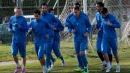 Футболистите на Левски с редовна тренировка