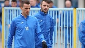Старокин тренира с Левски