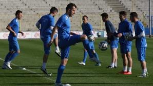 Редовна тренировка на Левски преди двубоя с Локо (Пл)
