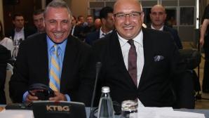 Христо Стоичков и Красен Кралев, откриха конгрес на FIFPro в София