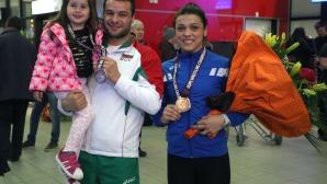 Мими Христова и Николай Куртев се върнаха с бронзови от Европейското в Рига
