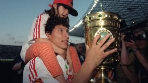 Красимир Балъков като футболист на Щутгарт