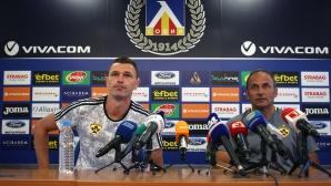 Пресконференция на Марибор преди двубоя с Левски