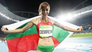 Мирела Демирева донесе сребърен медал на България!