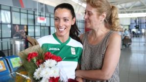 Ивет Лалова се прибра за кратко в България