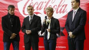 Министър Дашева и Емил Костадинов официално откриха поредното издание на Coca Cola Cup
