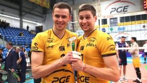 Ники Пенчев и СКРА с разгромна победа в Полша, взеха гейм с 25:9
