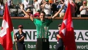 """Федерер е най-възрастният """"Мастърс"""" шампион"""