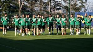 Националите тренират на новата си база в Бояна