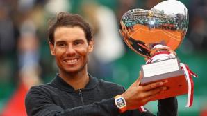 """Надал - първият десетократен шампион в """"Откритата ера"""" на тениса"""