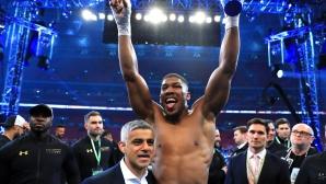 Джошуа е новият боксов крал в тежка категория