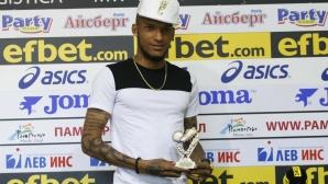 Фернандо Каранга от ЦСКА-София е играч №1 на 30-ти кръг