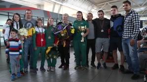 Националният отбор по самбо се прибра от Европейското първенство в Минск