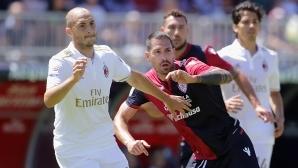 Каляри удари Милан след 19 години