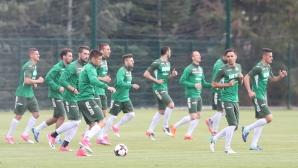 Националите с първа тренировка преди Световната квалификация с Беларус