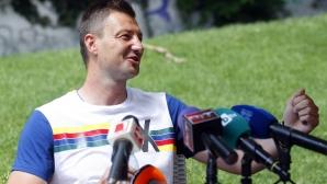 Пресконференция на Таско Тасков за отказването му от съдийството