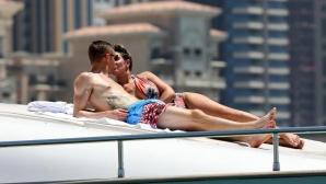 Джейми Варди разпуска в Дубай