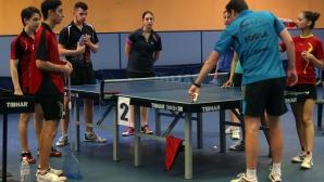 Националите по тенис на маса преди ЕП за кадети, юноши и девойки