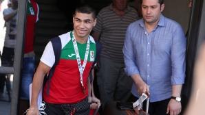 Даниел Асенов се прибра след защитата на европейската си титла