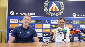 Пресконференция на Николай Митов преди мача със Сутиеска