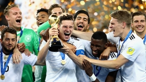 Германия победи Чили и спечели Купата на конфедерациите!