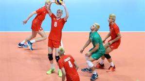 България срази Гърция с 3:0 на Евроволей 2017