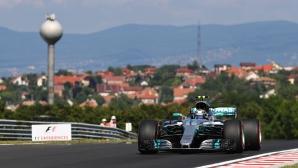 Тренировки за Гран При на Унгария 2017