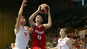 България U16 - Дания U16