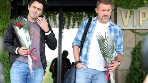 Рони О'Съливан и Стивън Хендри пристигнаха в България