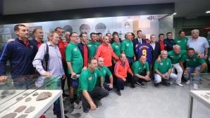 Стоичков заведе легенди на Барселона и България в Историческия музей в Стара Загора