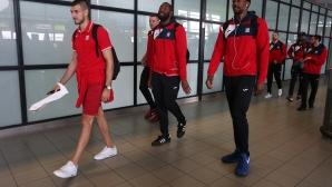 Баскетболистите на Лукойл Академик се прибраха от Португалия
