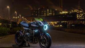 Италианският дизайнерски концепт на Honda - CB4 Interceptor