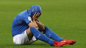 Радост за Швеция, сълзи за Италия